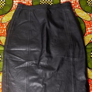 B.B.Dakota GenuineLeather Skirt